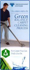 Green Balance Carpet Cleaning Process Brochure